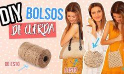 BOLSOS DE CUERDA
